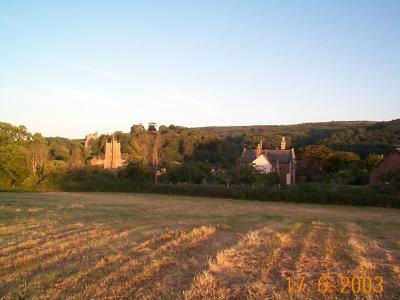 Dunster Church and Castle